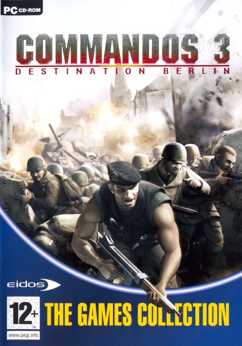 Commandos Collection Windows Other Keep Case - Front (Commandos 3)