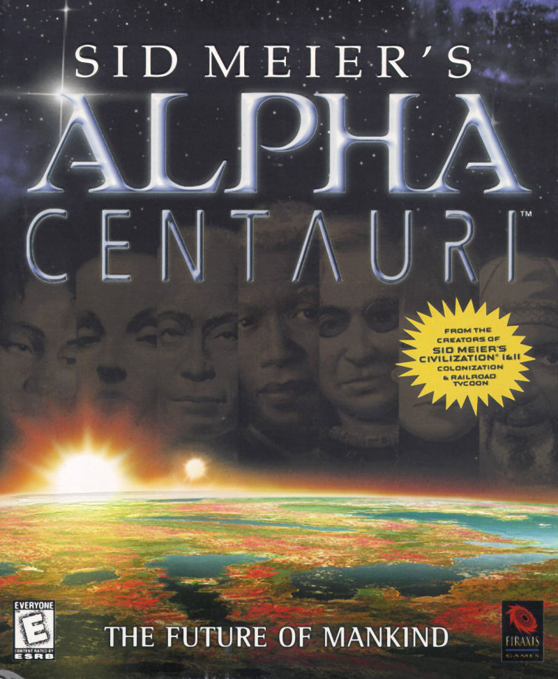 Sid Meier's Alpha Centauri Windows Front Cover
