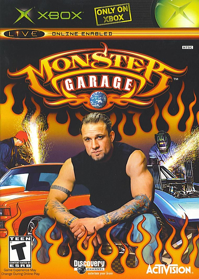 Monster Garage Xbox Front Cover