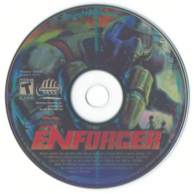 X-COM: Enforcer Windows Media