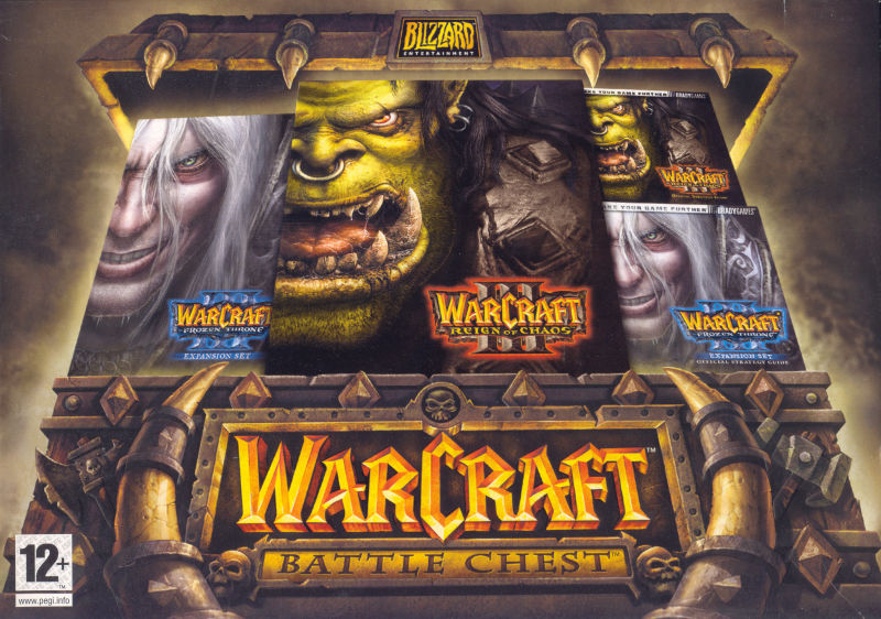 Warcraft III: Battle Chest Macintosh Front Cover