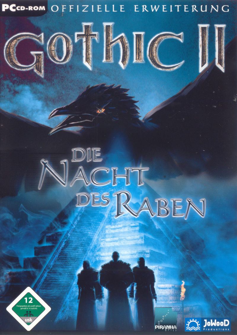 Gothic II: Night of the Raven Windows Front Cover