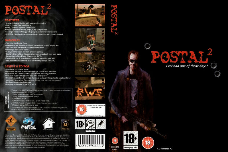 Postal² Windows Full Cover