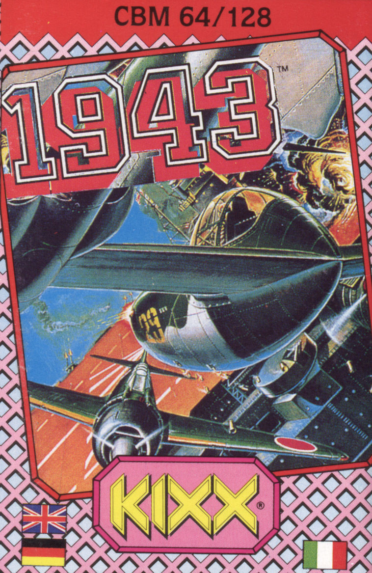 1943: The Battle of Midway Commodore 64 Front Cover