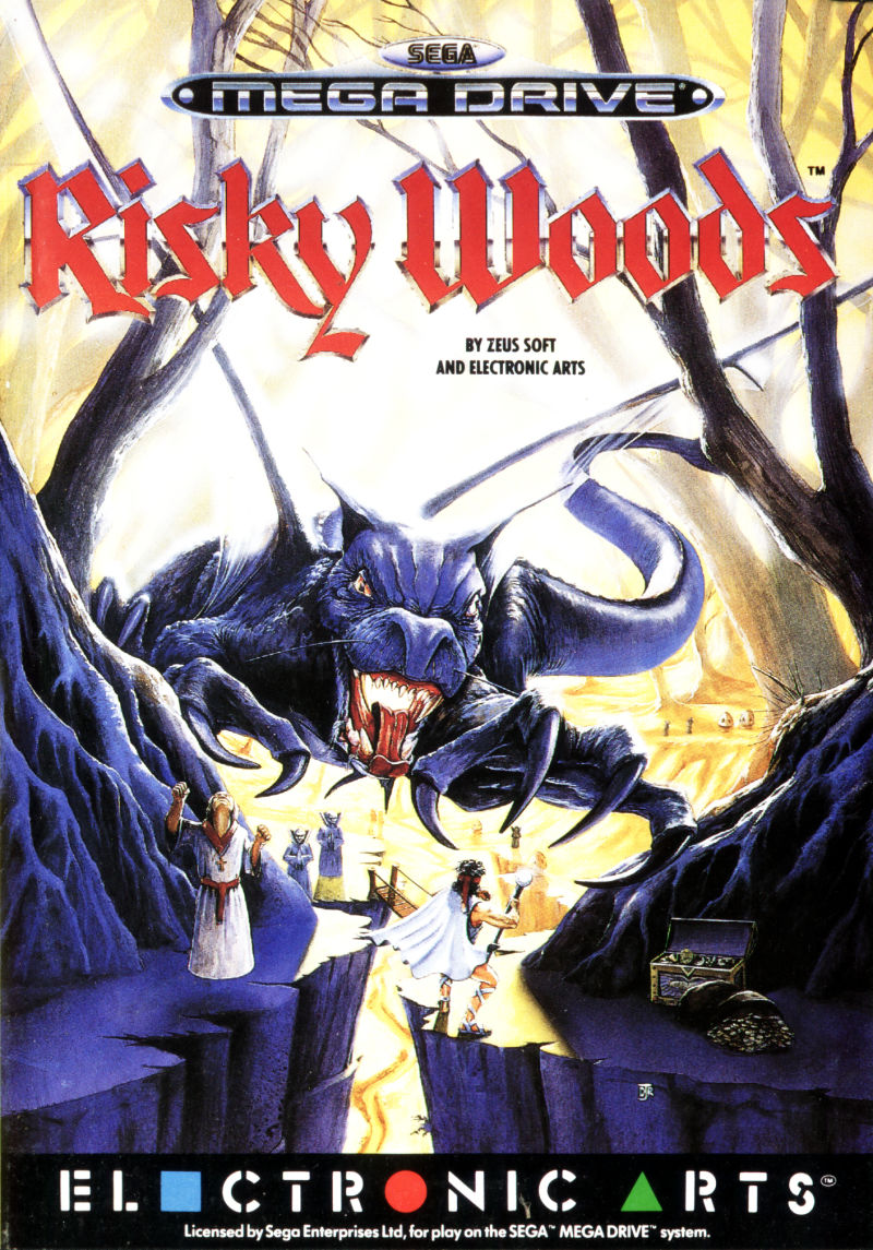 Risky Woods Genesis Front Cover