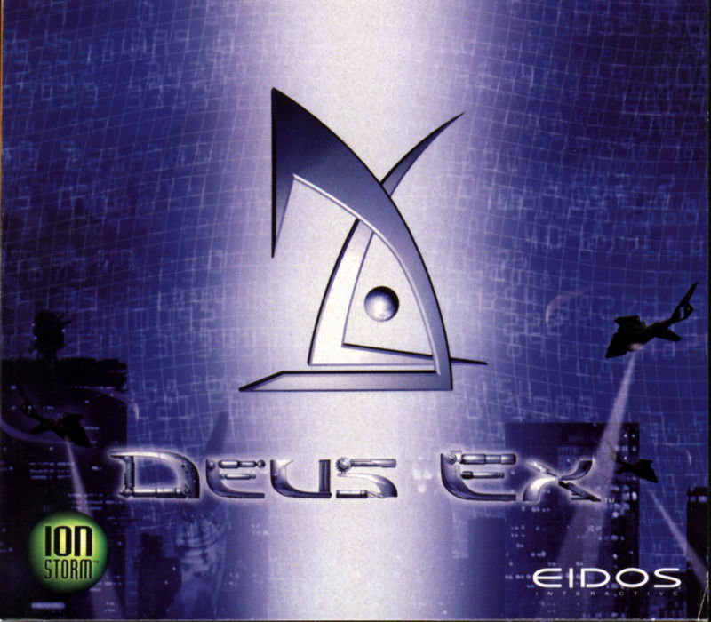 Deus Ex Windows Other Jewel Case - Front