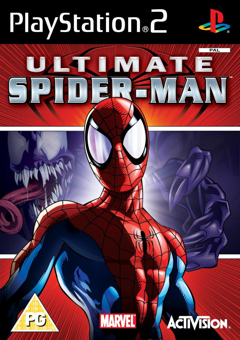 Ultimate Spider-Man PlayStation 2 Front Cover