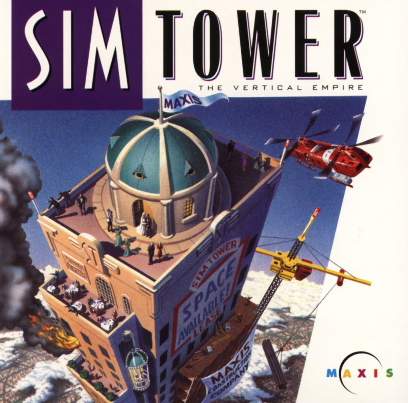 SimTower: The Vertical Empire Windows 3.x Other Jewel Case Front