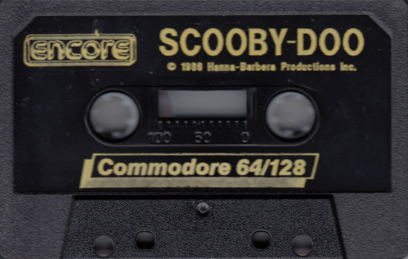 Scooby-Doo Commodore 64 Media Front
