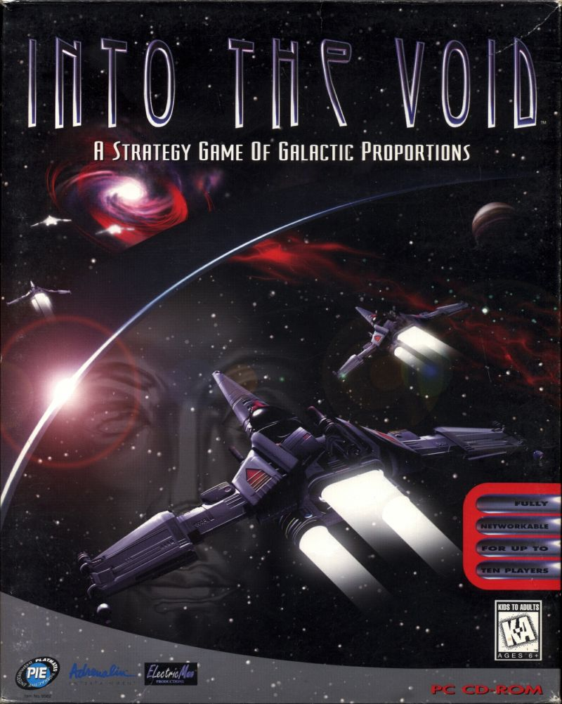 Into the Void DOS Front Cover