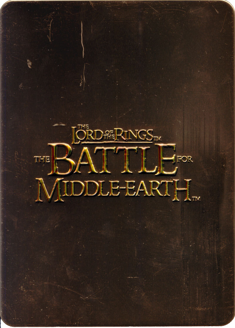 The Lord of the Rings: The Battle for Middle-Earth (Limited Edition) Windows Front Cover