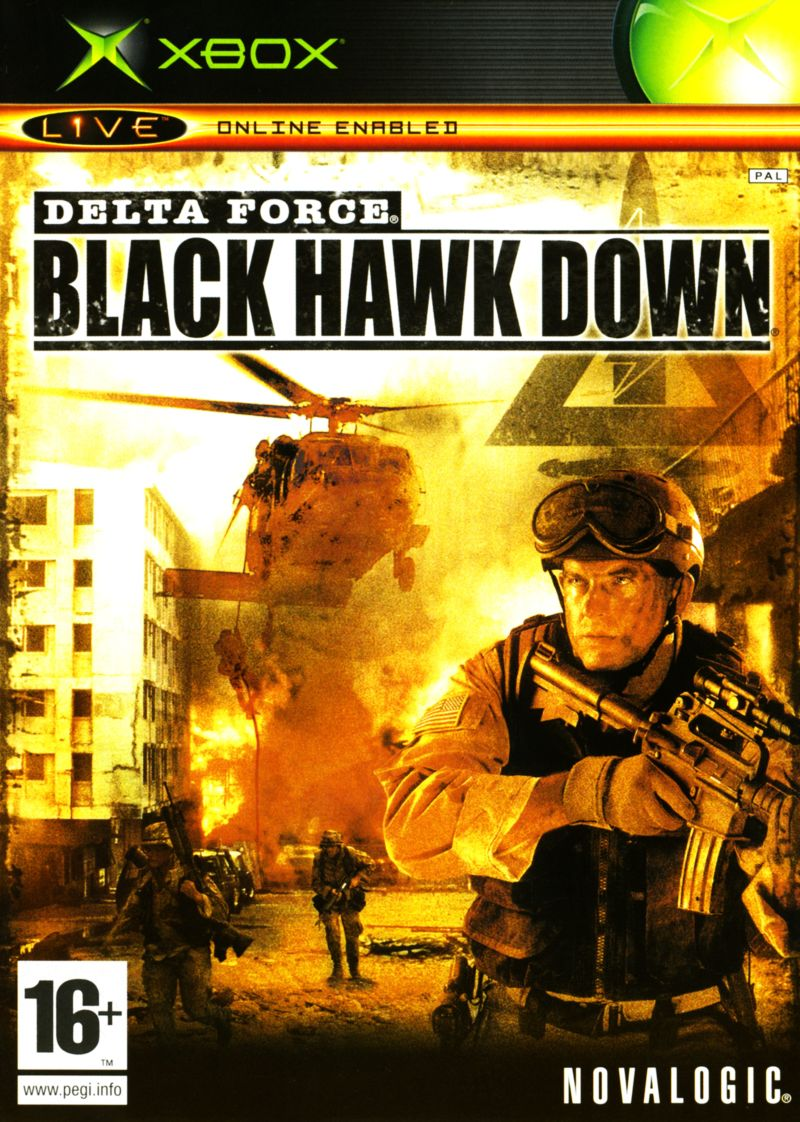 Delta Force: Black Hawk Down Xbox Front Cover