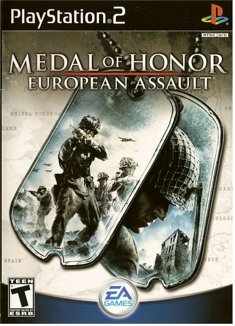 Medal of Honor: European Assault PlayStation 2 Front Cover