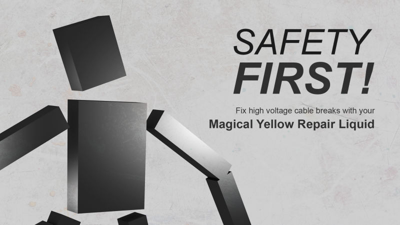 Safety First! Nintendo Switch Front Cover 2nd version