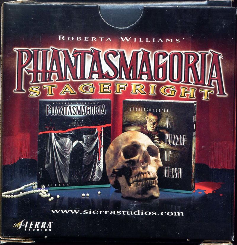 Phantasmagoria Stagefright DOS Front Cover