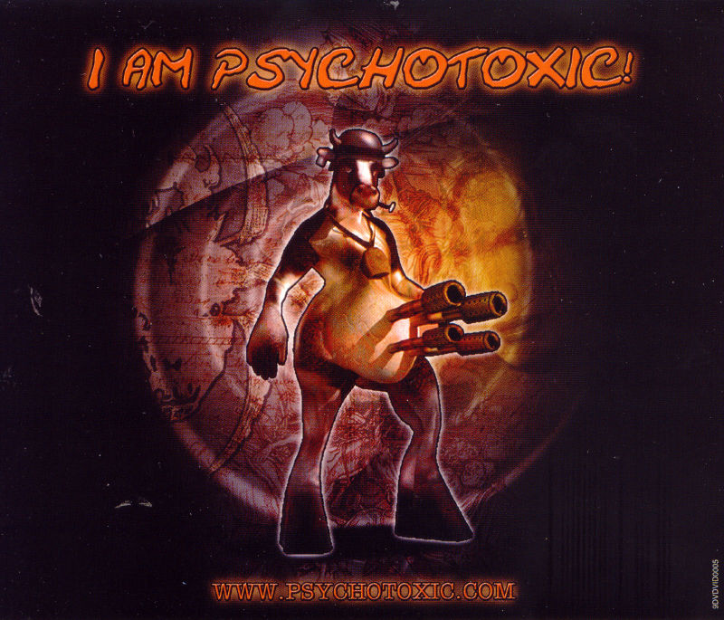 Psychotoxic Windows Other Jewel Case - Back