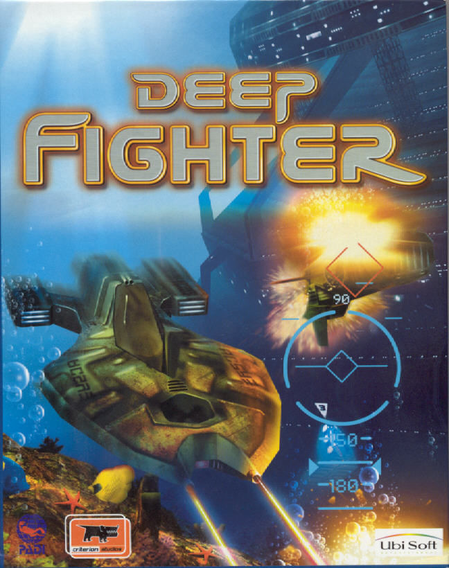 Deep Fighter Windows Front Cover