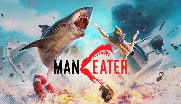 Maneater Windows Front Cover
