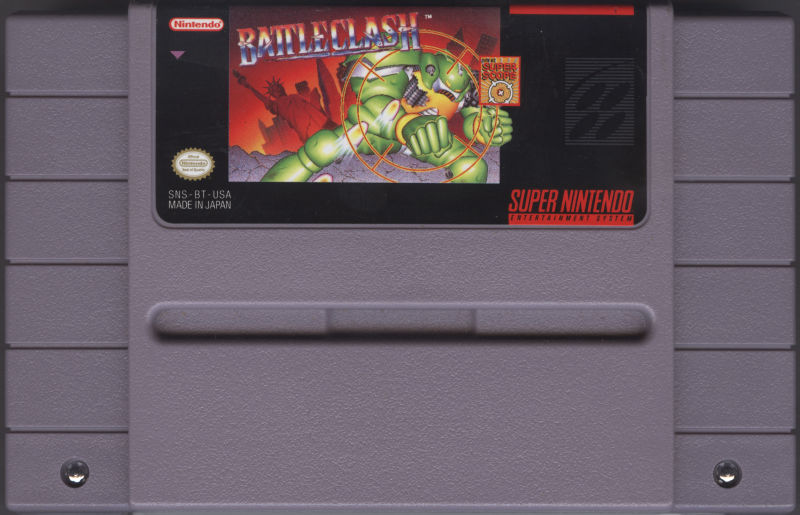 Battle Clash SNES Media