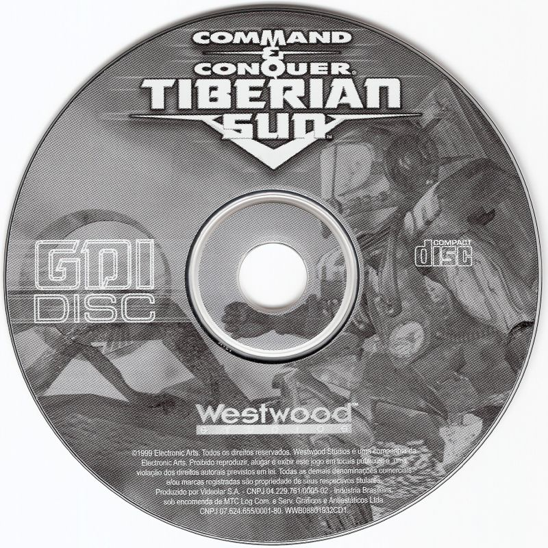 Command & Conquer: Tiberian Sun Windows Media Disc 1 - GDI