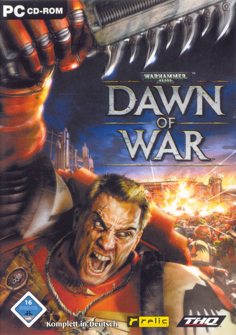 Warhammer 40,000: Dawn of War Windows Other Keep Case - Front