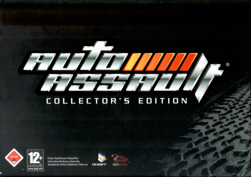 Auto Assault (Collector's Edition) Windows Front Cover