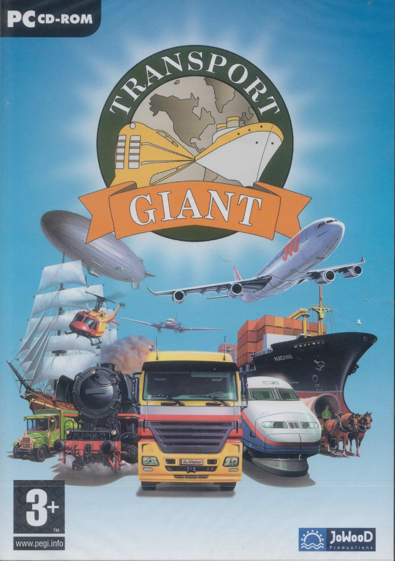 Transport Giant Windows Front Cover