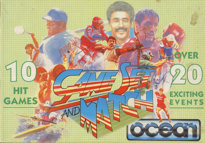Game Set and Match Amstrad CPC Front Cover
