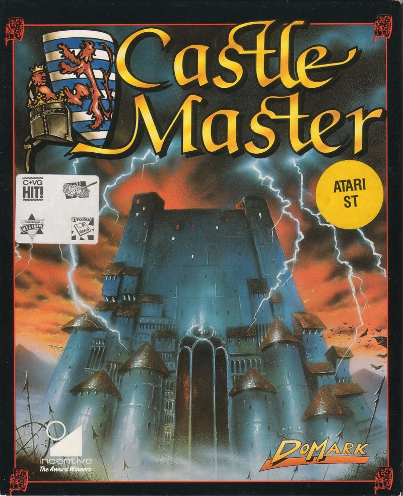 Castle Master Atari ST Front Cover