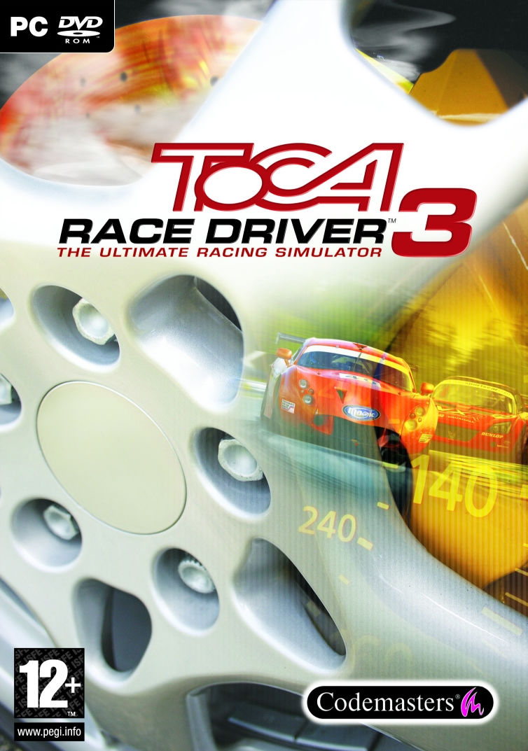 TOCA Race Driver 3 Windows Front Cover