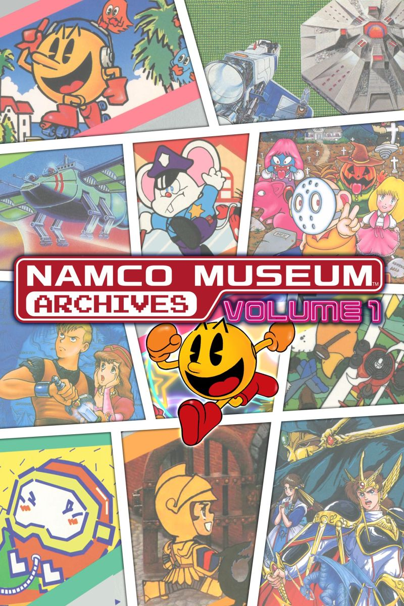 Namco Museum Archives Vol. 1 Xbox One Front Cover