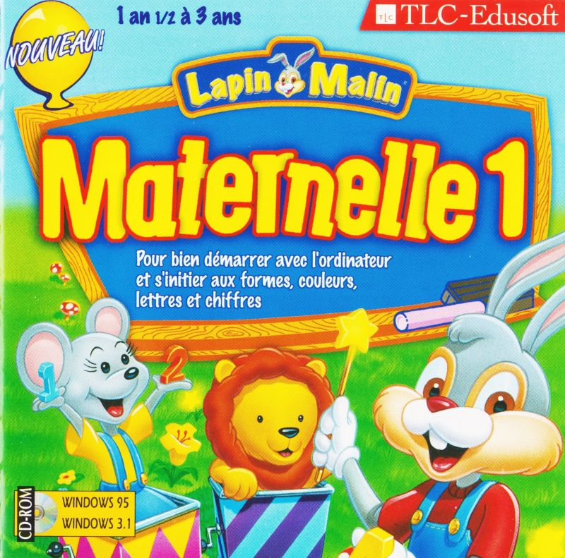 Reader Rabbit's Toddler Windows Other Jewel Case - Front