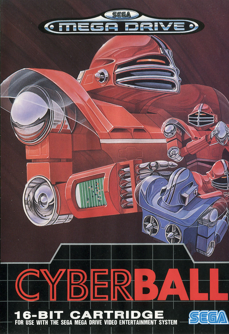 Cyberball Genesis Front Cover