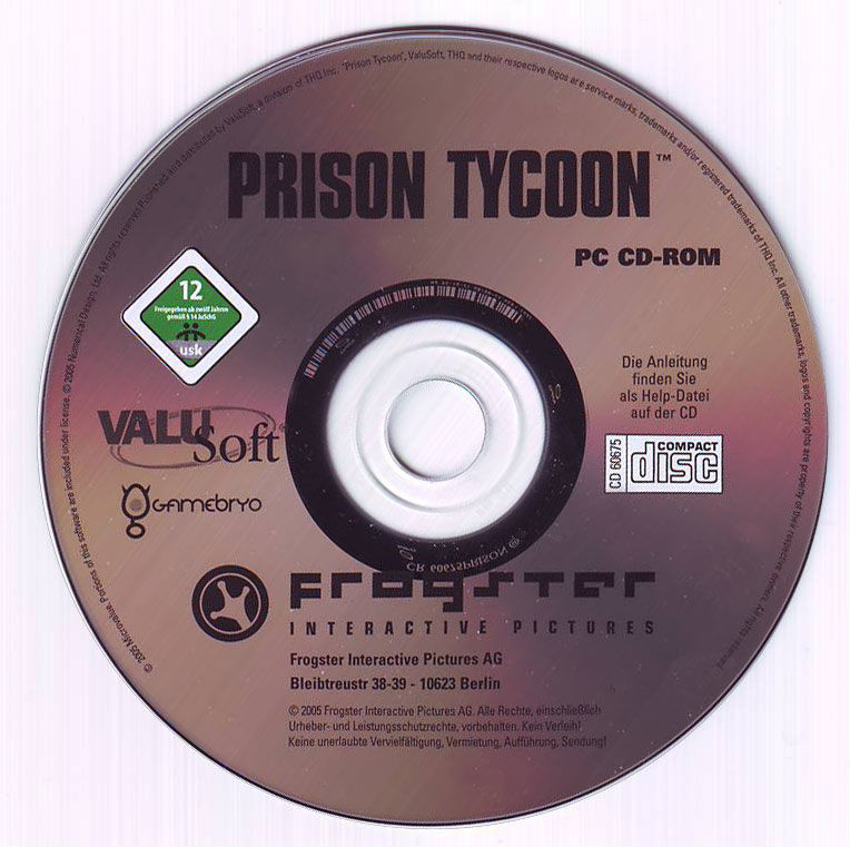 Prison Tycoon Windows Media