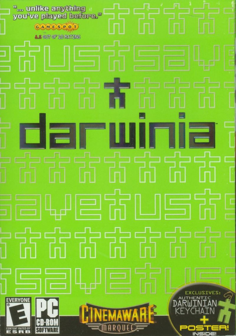 Darwinia Windows Front Cover