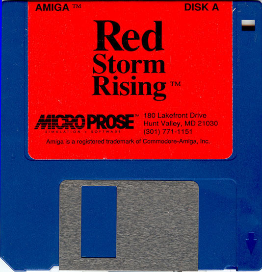 Red Storm Rising Amiga Media