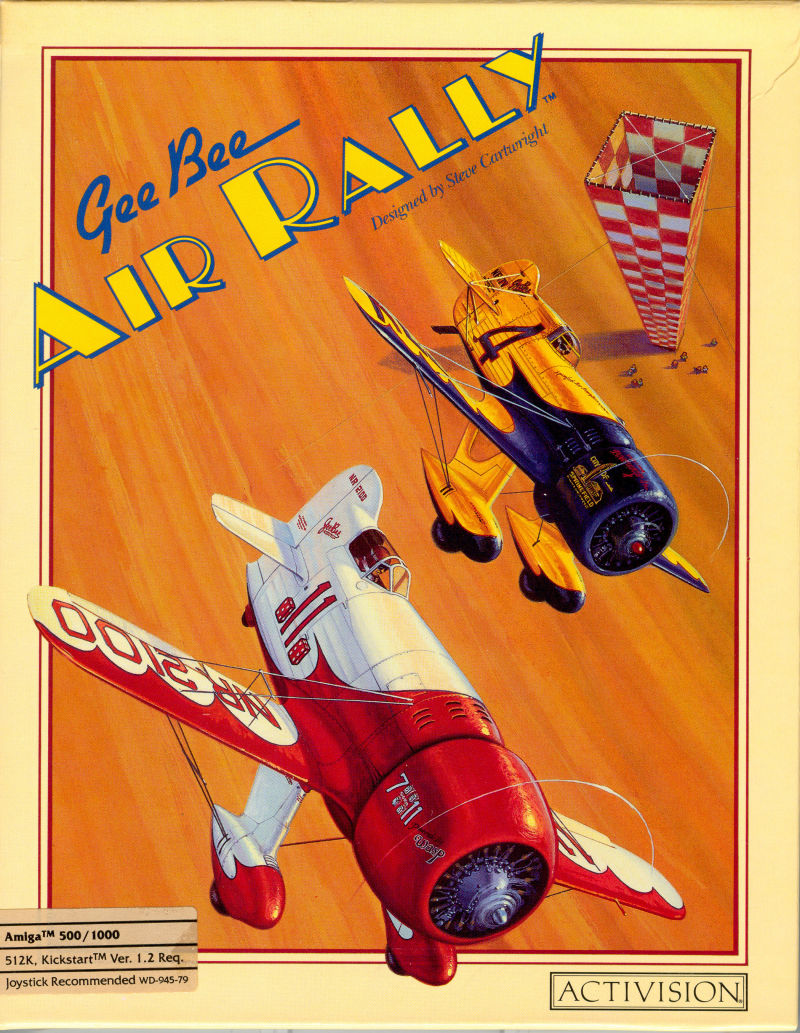 Gee Bee Air Rally Amiga Front Cover