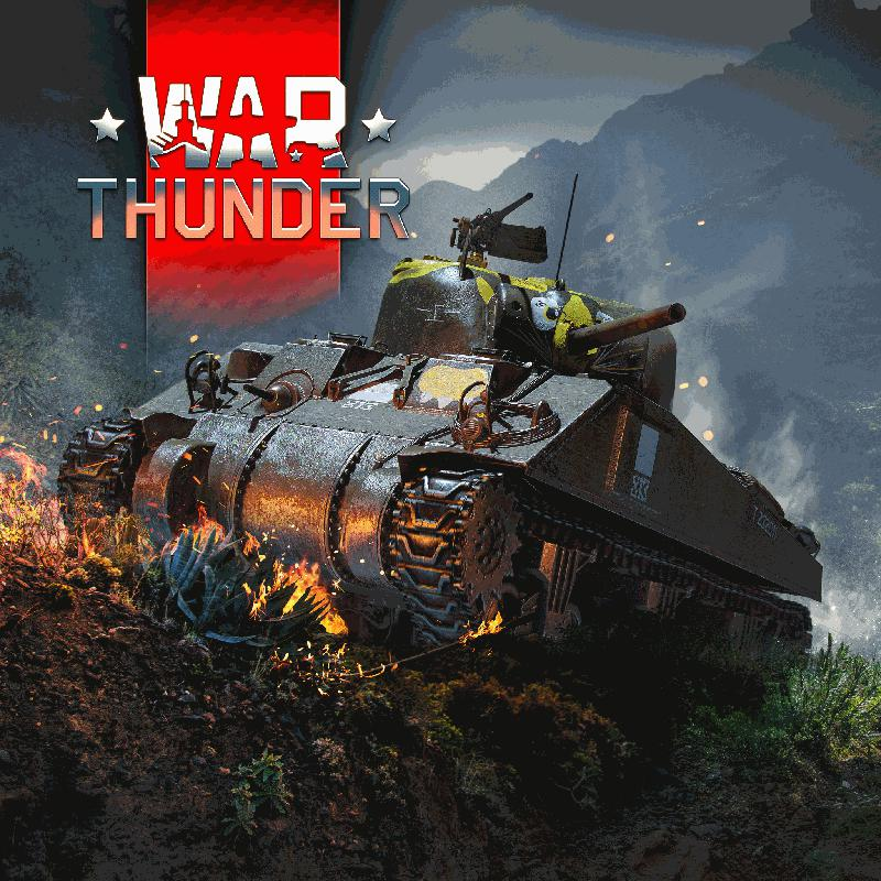 War Thunder: M4A4 Sherman for PlayStation 4 (2020) - MobyGames