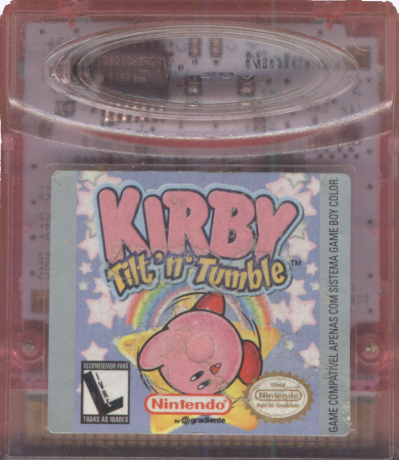Kirby Tilt 'n' Tumble Game Boy Color Media
