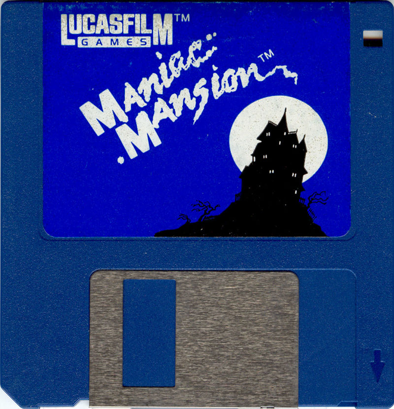 Maniac Mansion Amiga Media