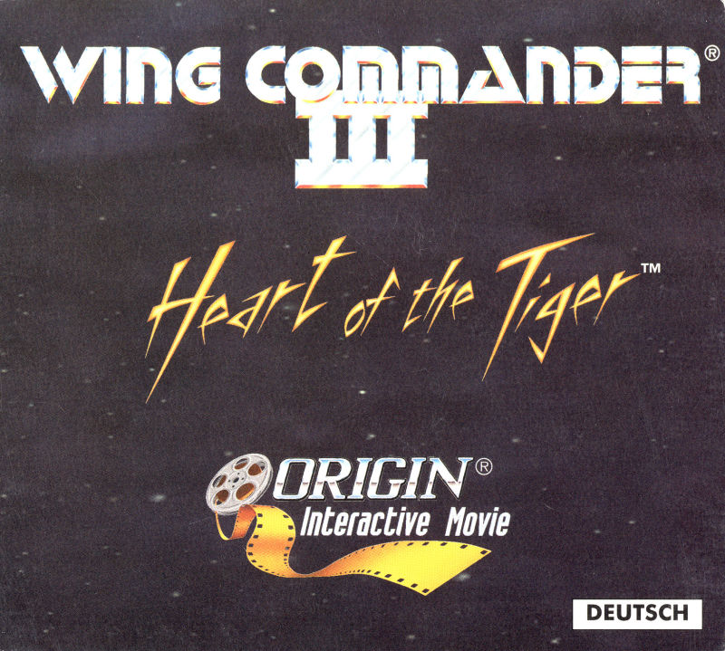 Wing Commander III: Heart of the Tiger DOS Other Digipack - Front