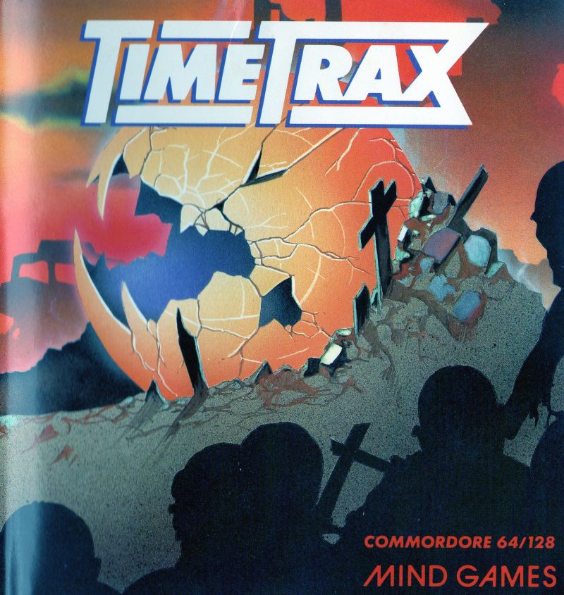 Time Trax Commodore 64 Front Cover