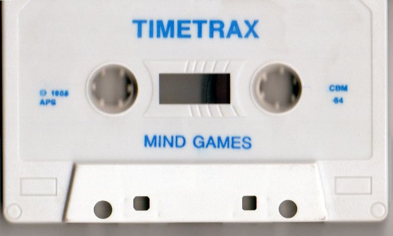 Time Trax Commodore 64 Media