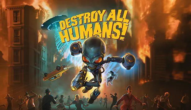 Destroy All Humans! Windows Front Cover