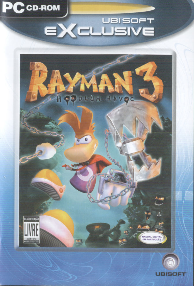 Rayman 3: Hoodlum Havoc Windows Front Cover