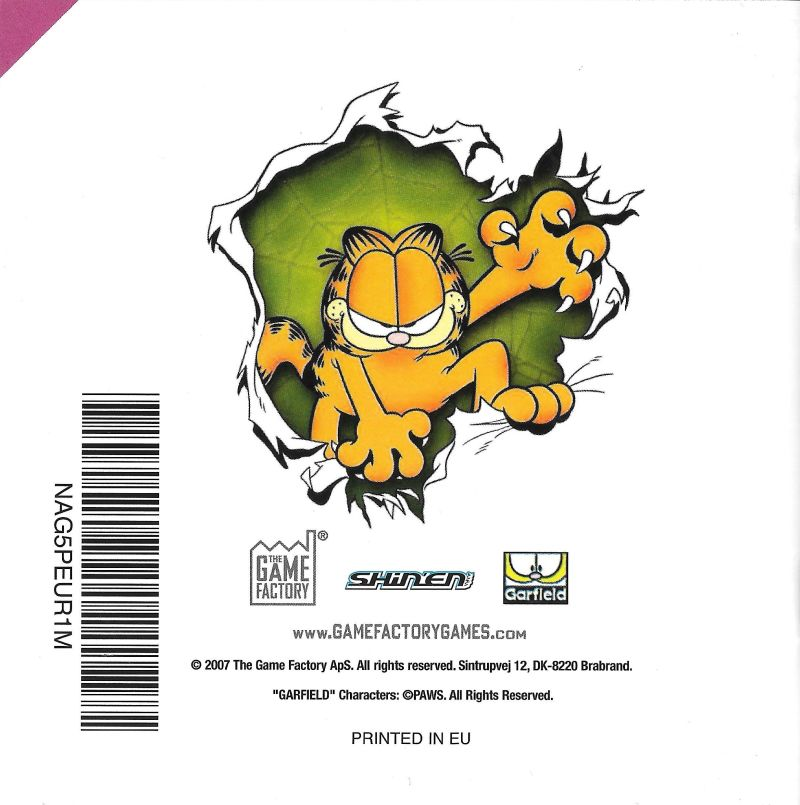 Garfield S Nightmare 2007 Nintendo Ds Box Cover Art Mobygames