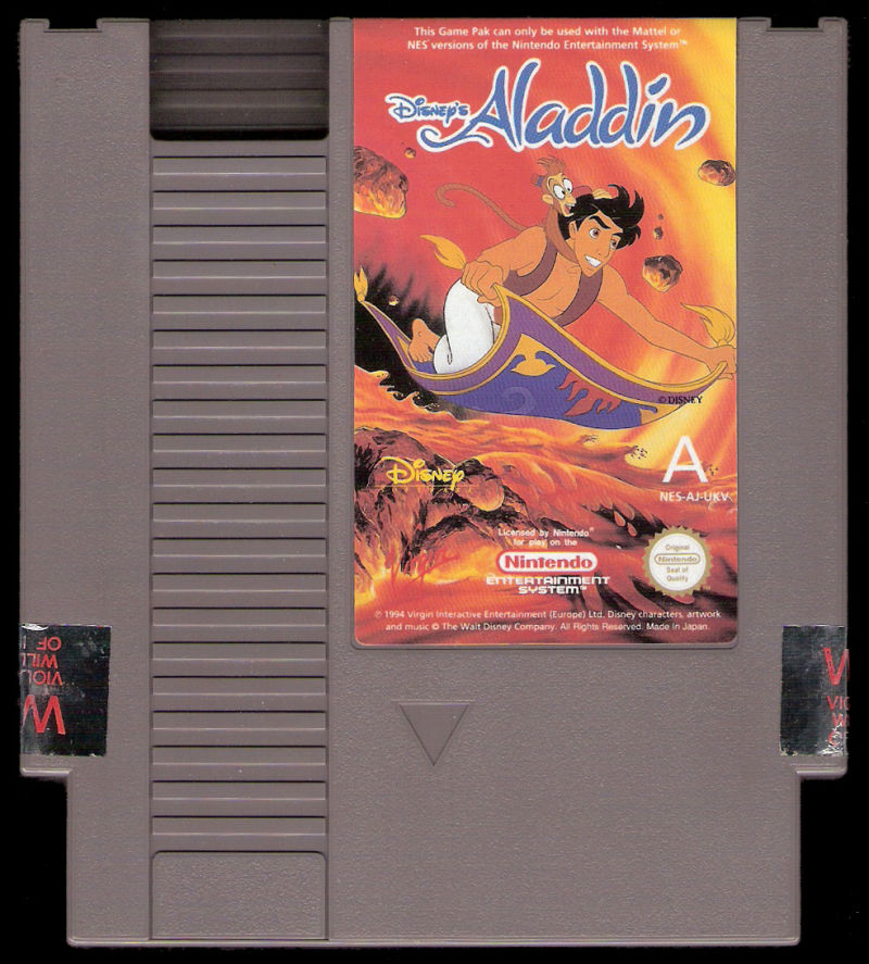 Disney's Aladdin NES Media