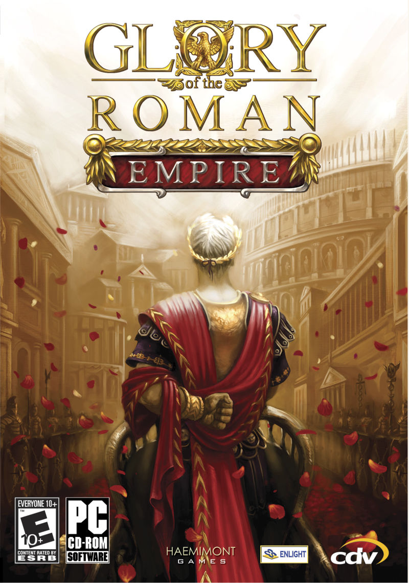 Glory of the Roman Empire Windows Front Cover