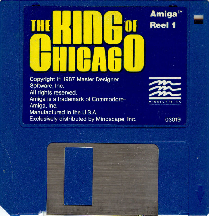 The King of Chicago Amiga Media Disk 1/2