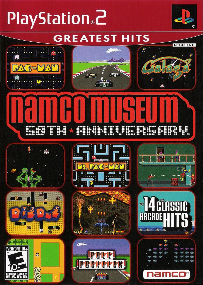 Namco Museum: 50th Anniversary for PlayStation 2 (2005